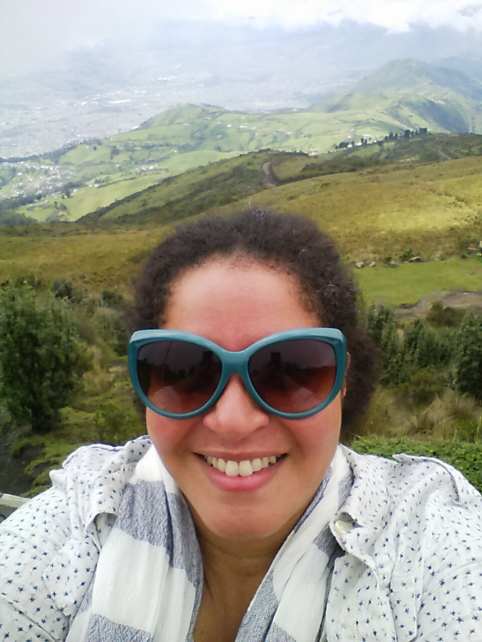 Me on the east side of Pichincha.